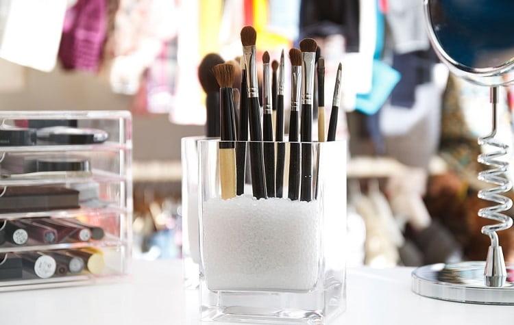 meilleur organisateur de maquillage