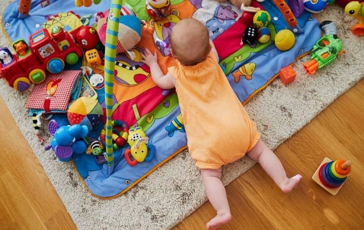 meilleur tapis d'éveil montessori