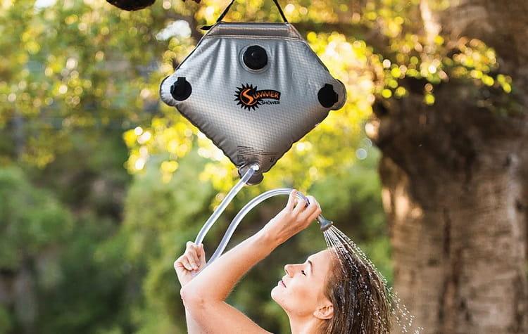 meilleure douche de camping